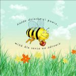 The label for an honey jar by beti027