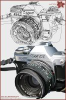 Canon AT-1 Behind the Scenes by AaronSmiley