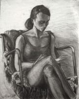 Lady in chair by akrawczyk83