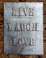 Live Laugh Love by heartMelinda
