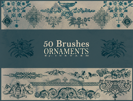 Ornaments Brushes III by Icetaem