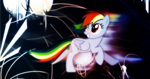 Rainbow Dash wallpaper for Chwasti by AmazingPony