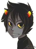 Binary Karkat by xBlimpcat