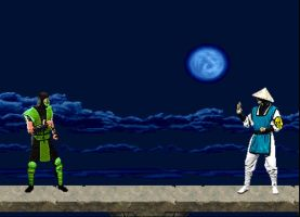 Herbie vs. Mortal Kombat by LittleBigDave