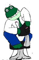 new ATOC) doctor froggers by AskThe-Plushy-King
