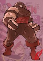 The Juggernaut by BongzBerry