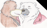 Two burrs with one stone! by EnzeruAnimeFan