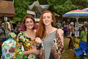 Cute Gals at the 2015 OCF 597 by DarrianAshoka