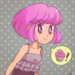 Cupcake by Merlemage