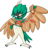Decidueye by JuacoProductionsArts