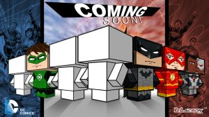 New52: Justice Leage Cubeecraft Teaser 5 by IzLacson