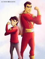 SHAZAM 75th Anniversary by ViciousJulious