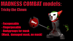 Madness combat model pack - Tricky the Clown by PointPony