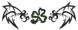 Shamrock Tribal by BaisteachCeilteach
