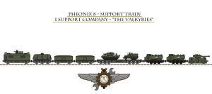 Pheonix 8 - Support Train by Leadmill