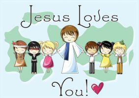 Jesus Loves You by Shiriel
