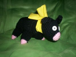 Crocheted P-Chan Plush by AJAngelique