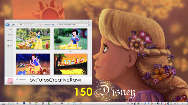 Wallpapers Disney  by iTutosCreativeRawr