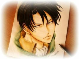 Corporal Rivaille Ackerman - SnK by LizzziebyLisaCosta