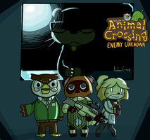 Animal Crossing : Enemy Unknown by AndrewCrowe