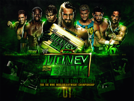 WWE Money In The Bank 2014 Wallpaper by thetrans4med