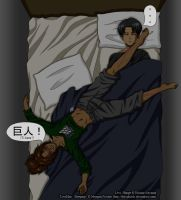 LeviHan - Sleeping by The-Phisch
