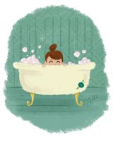 Bathtime by liliribs