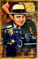 Al Capone Poster 11x17 by kingsley-wallis