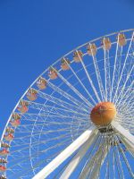 Ferris wheel by honeysunshinetw
