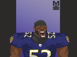 Ray Lewis by MekareMadness