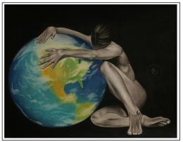 Mother Earth by Deepasarus