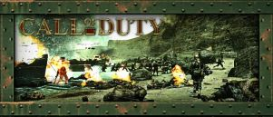 Call of Duty 2 Banner by Melomonster