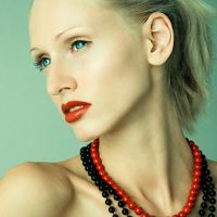 Red lips 2 by milenka