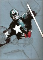 captain america  redux by Sigint