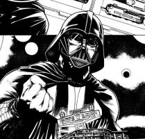 Darth Vader Sketch_02 by marcocastiello