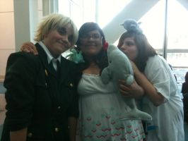 Anime Expo 2012 England, Seychelles, and Greece by Fainting-Ostrich