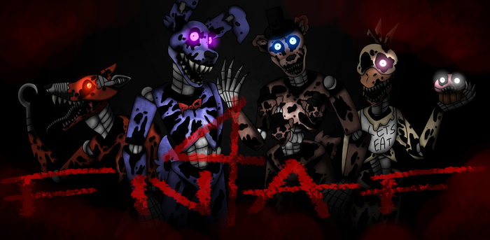 Five nights at Freddys 4 by PinchCat