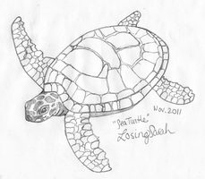 Sea Turtle by LosingSarah