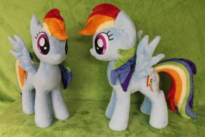 Bronycon Rainbow Dash by WhiteDove-Creations