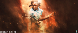 Sekou Oliseh by colorart-gfx