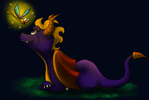 Spyro the Dragon by SummaBadger