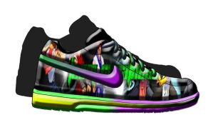Team Greatness Shoe Nike Style by Dante909