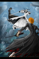 BF1: ichigo vs ogihci by melek90