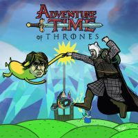 Adventure Time of Thrones by Bazzelwaki