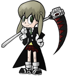 Soul Eater - Maka + Soul by Undead-Niklos