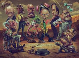 Breaking Bad Guys by AnthonyGeoffroy