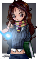 Hermione by anotherblazehedgehog
