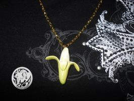 Banana Necklace by latent-ookami