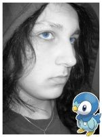 Me and Piplup by thelast1uthinkof