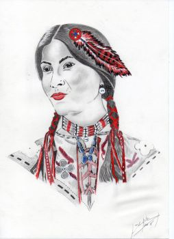 Native american by whassouh